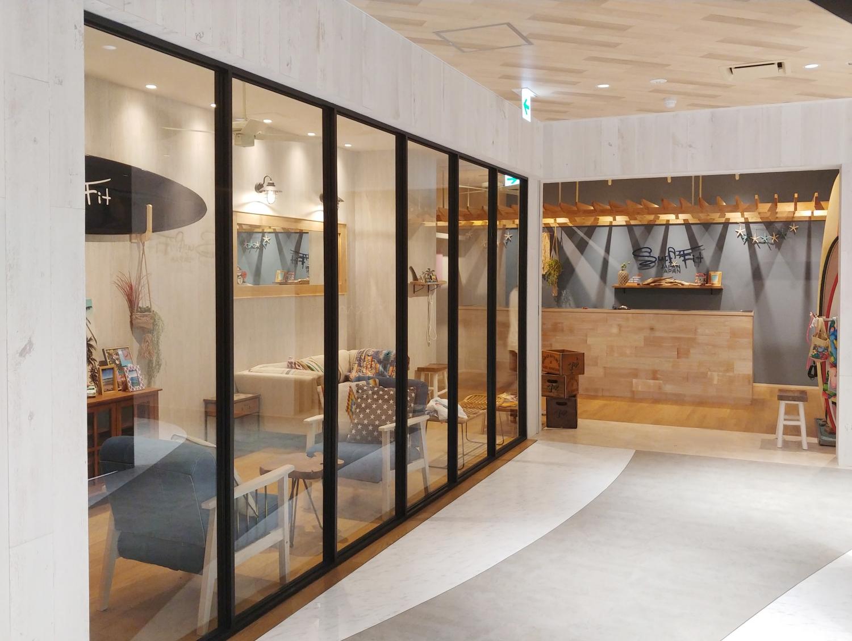 内装工事 Surf Fit/PilatesK クレフィ三宮店