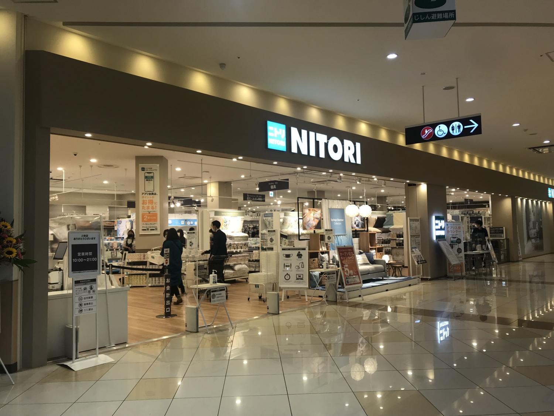 内装工事|ニトリ アリオ倉敷店