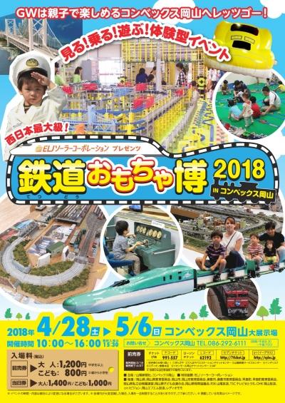 鉄道おもちゃ博2018inコンベックス岡山