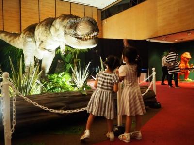 よみがえる 恐竜王国in山形屋の会場風景のご紹介