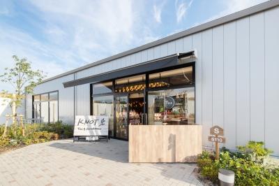 内装工事|KNOT Tea&Farm Kitchen ブランチ岡山北長瀬店