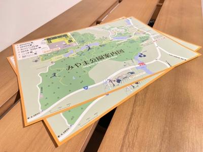 道の駅みやま公園MAPリニューアル