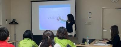 道の駅たかの様にてVMD講習を行いました