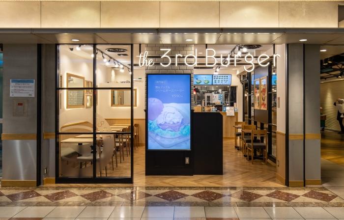 内装工事|the 3rd Burger 岡山一番街店