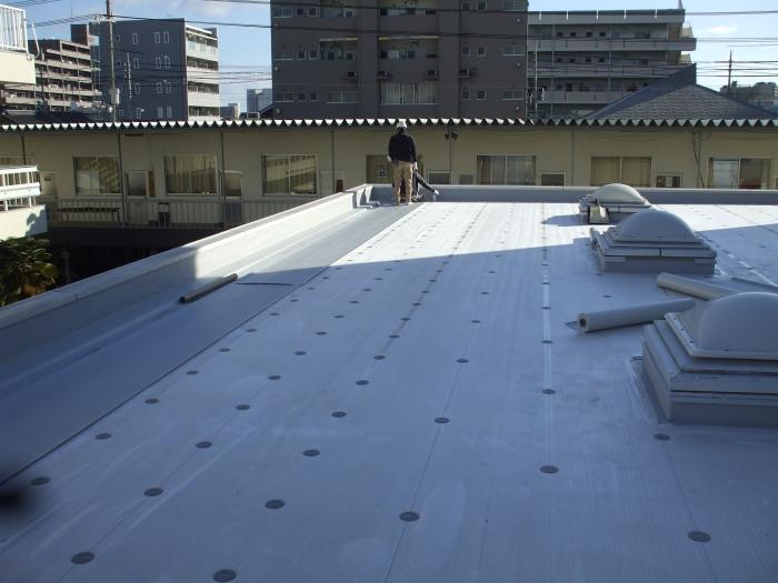 県立岡山工業高校 防水改修工事