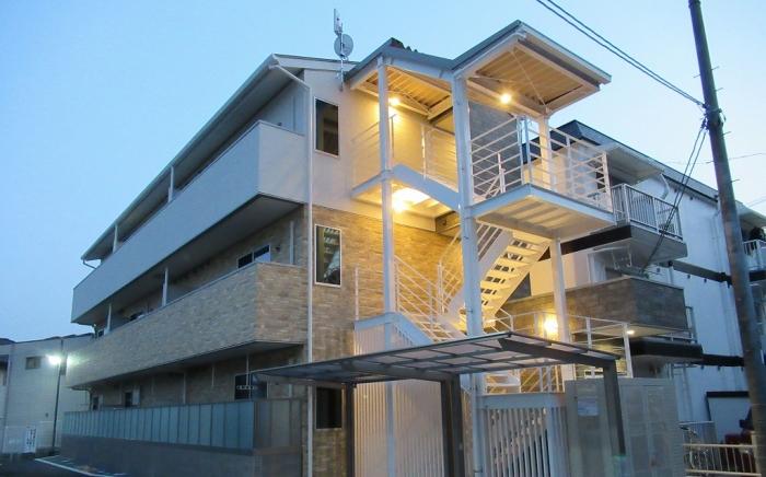 津倉町 集合住宅 新築工事