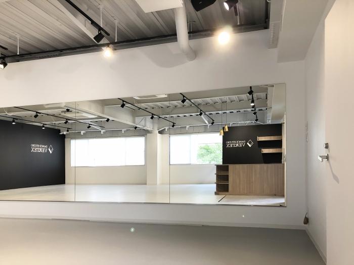 内装工事|ダンススタジオVERTEX 倉敷校