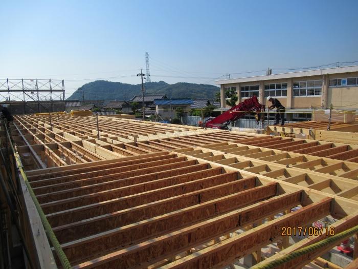 岡山市立小串小学校校舎耐震改築工事