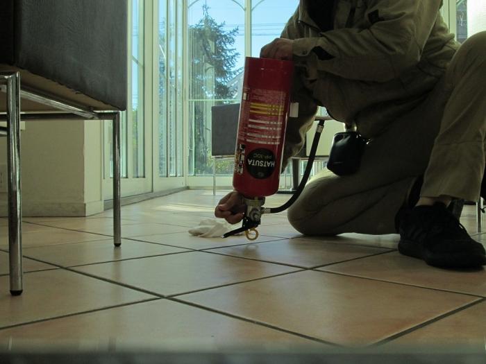 白十字(HAKUJUJI)今店 消防用設備点検