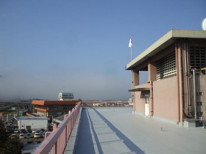 岡山県東備地域事務所 本館・東棟屋上防水改修工事