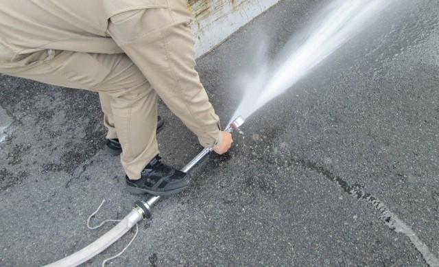 消火栓放水試験